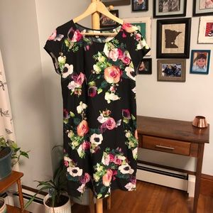 Merona Floral Sheath Dress